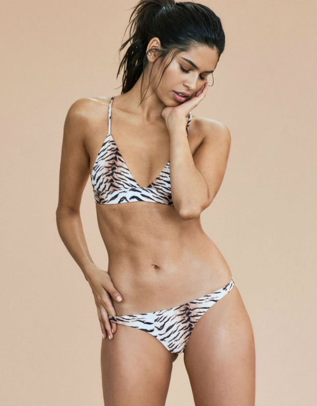 Acacia Swimwear Awapui Bikini Top in Tiger