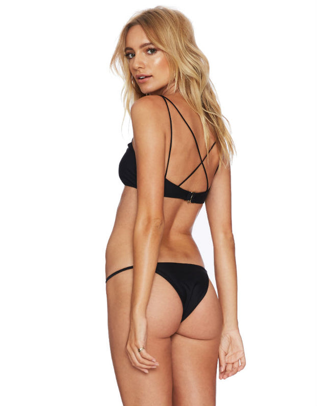 Beach Riot Chloe Bikini Bottom in Black