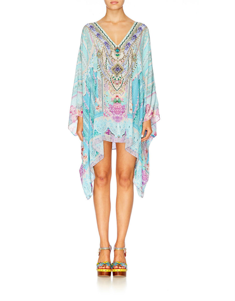 Garden State Split Shoulder Short Kaftan