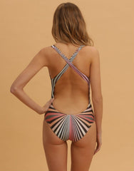 Kaleidoscope One Piece Swimsuit