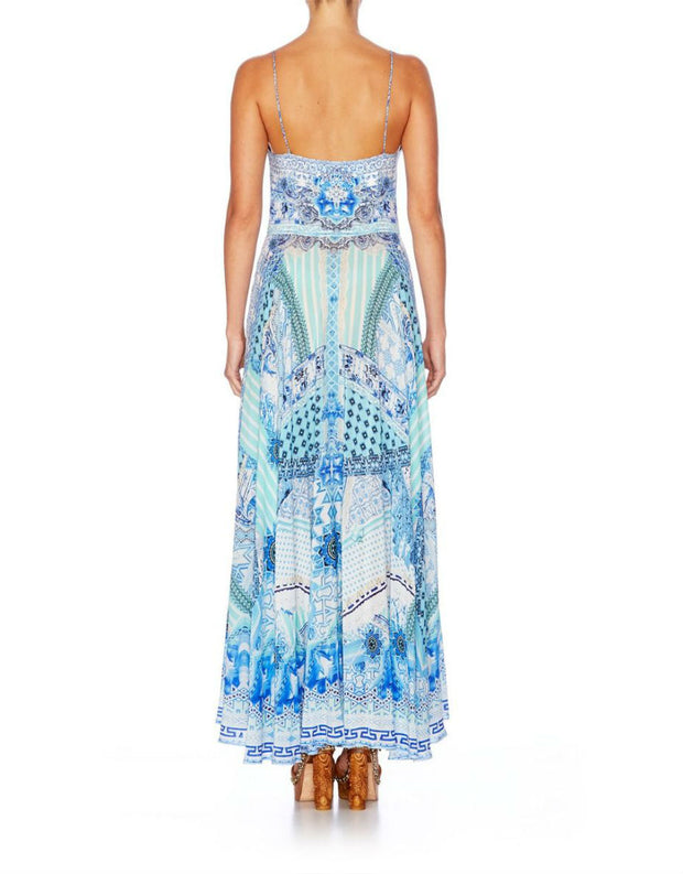 Camilla Day Dreamer Long Dress With Tie Front