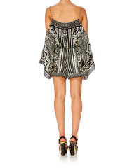 Tribal Theory Drop Shoulder Playsuit