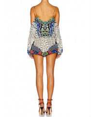 Maasai Mosh Drop Shoulder Playsuit