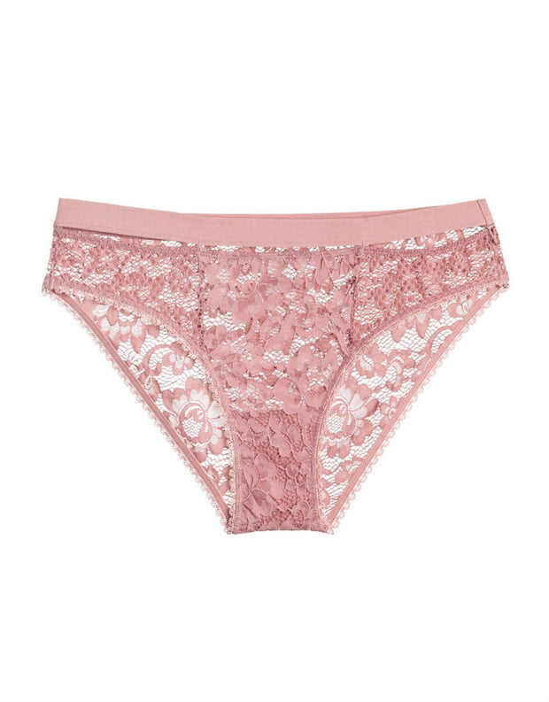Else Lingerie Petunia Bikini Brief in Rose