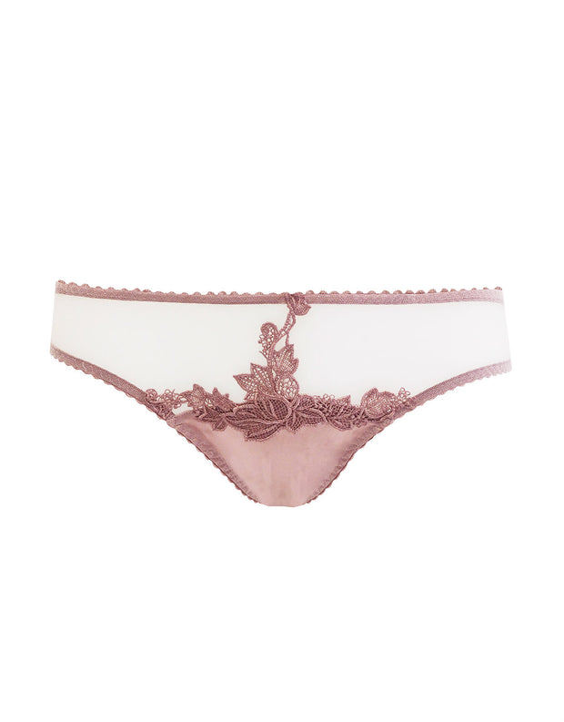 Fleur of England Desert Rose Embroidered Ouvert Brief