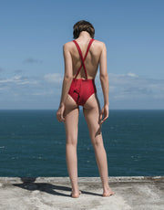 Haight Marina Adjustable One Piece in Pitanga