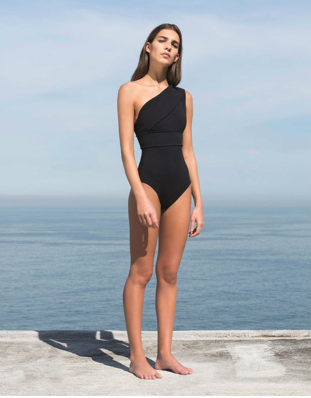 Maria One Piece in Black