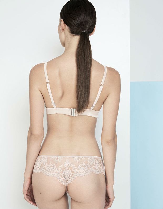 I.D. Sarrieri La Ballerina Rose Lace Brief