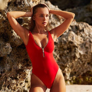 Lea One Piece in Red