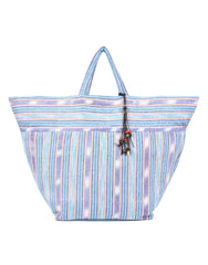 Samui Stripe Beach Bag in Blue