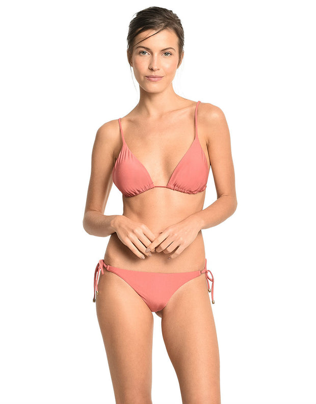 Lenny Niemeyer Morocco Long Halter Bikini Top