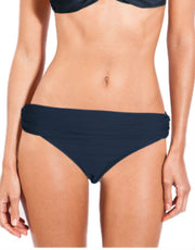 Blue Stone Touch High Waisted Bikini Bottom