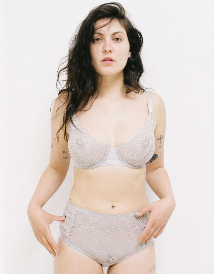 Lonely Patsy Underwire Bra Pebble