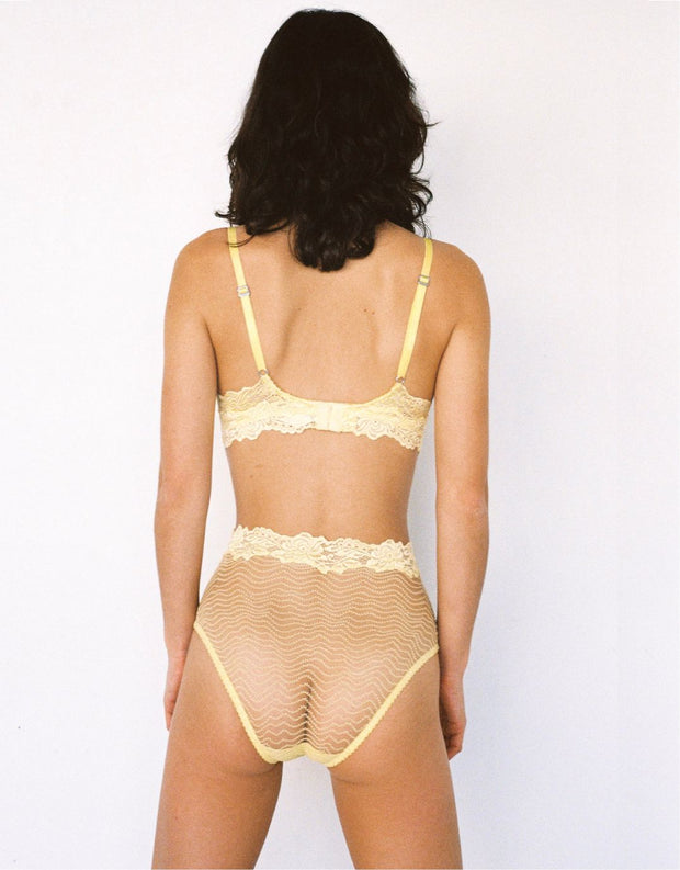 Lonely Bonnie High Waist Brief Lemonade