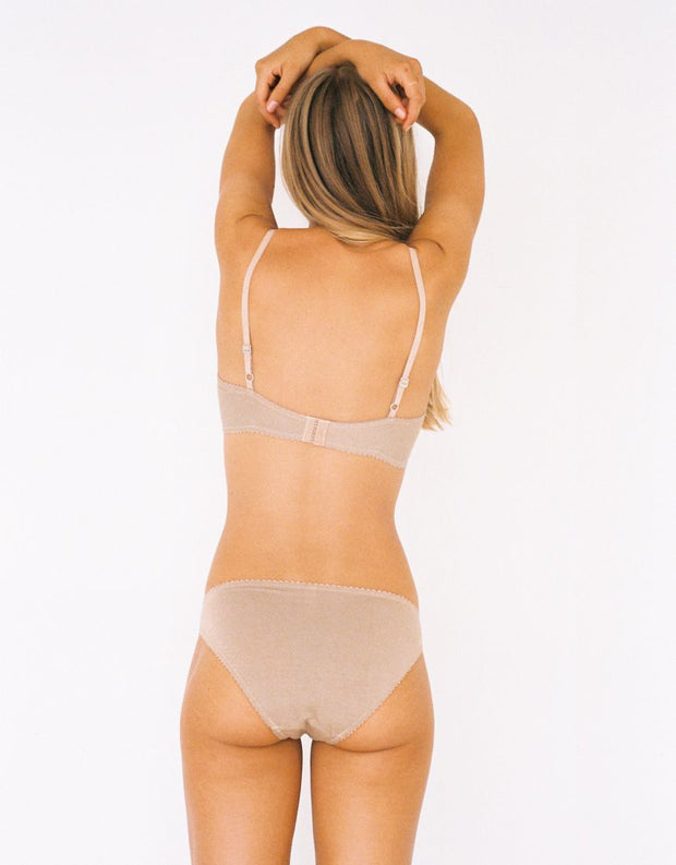 Lonely Label Bobbi Tri Brief Nougat
