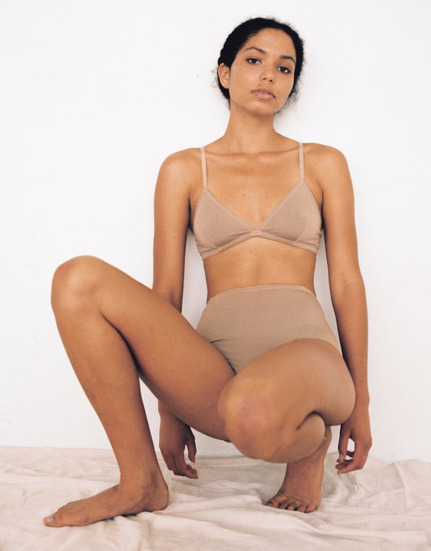 Lonely Label Bobbi High Waist Brief Nougat