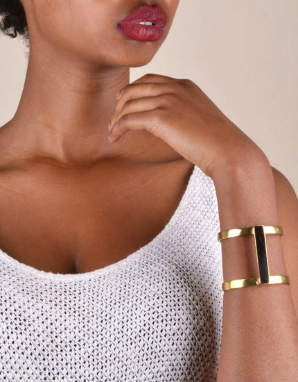 Soko Horn Bar Double Kizimba Cuff