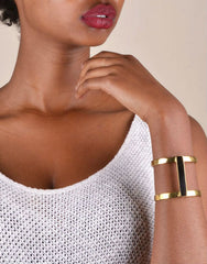 Horn Bar Double Kizimba Cuff