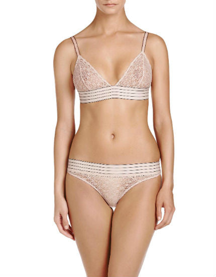 Stella McCartney Millie Drawing Bikini Brief in Peony
