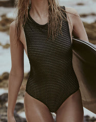 Cloud 9 Mesh One Piece in Shadow
