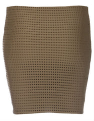 Paia Short Mesh Skirt in Pineapple