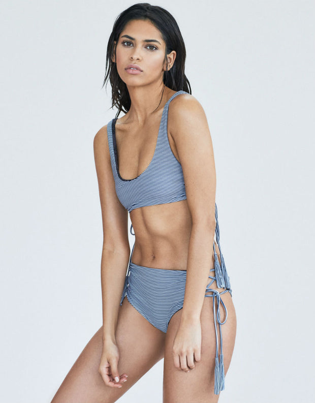 Acacia Swimwear Hunter Bikini Top in Long Island