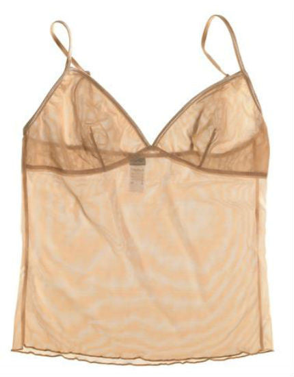 Sheer Mesh Nude Camisole
