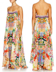 Flower Hour Long Hem Full Dress