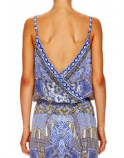 Camilla It Was All A Dream Cross Front Bodysuit