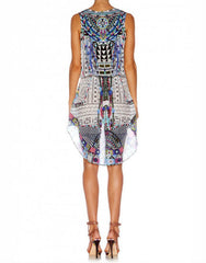 Maasai Mosh Cross Over Dress with Long Back