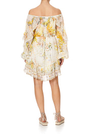 Camilla In the Hills of Tuscany Blouson Frill Sleeve Dress