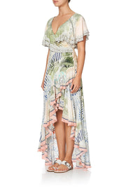 camilla-beach-shack-frill-sleeve-long-dress