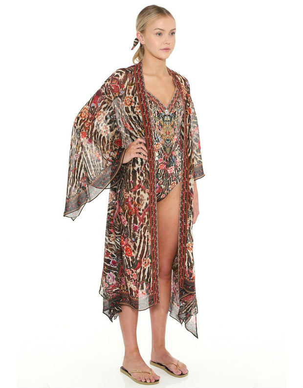 Camilla Liv a Little Handkerchief Hem Layer Robe