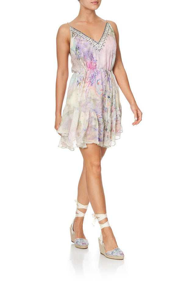 camilla-mermaid-milla-mini-dress-with-ruffle-hem