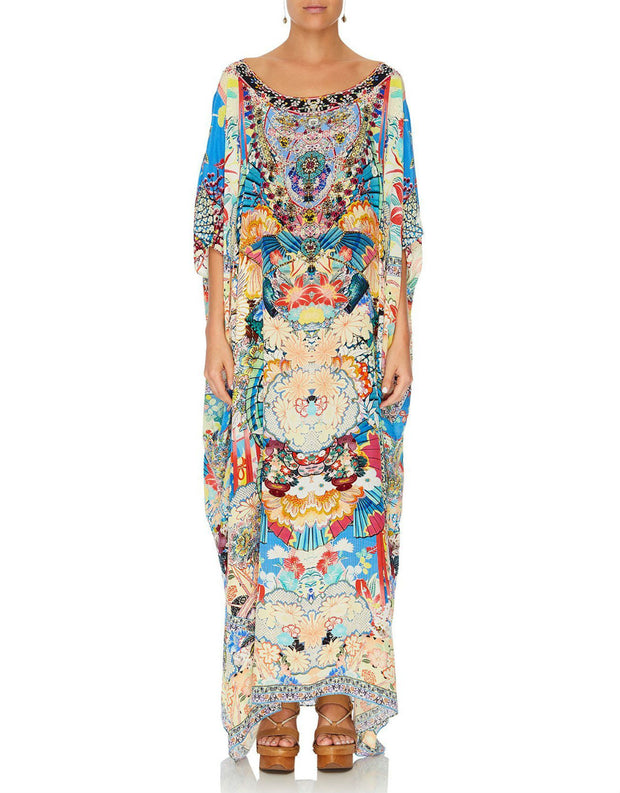 Camilla MISO IN LOVE ROUND NECK KAFTAN