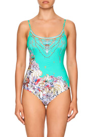 Camilla Floraison ROUND NECK ONE PIECE