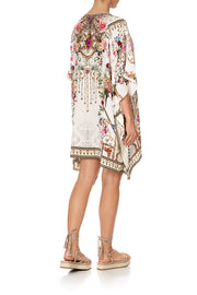 Camilla Star Crossed Lovers Short Lace Up Kaftan