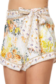 Camilla In the Hills of Tuscany Tie Detail High Cut Shorts