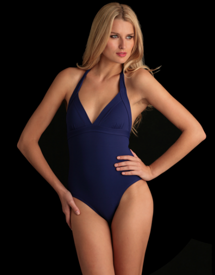 Cassis Swimsuit in Blue