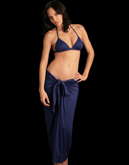 Zephyr Sarong in Blue