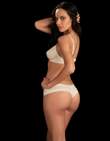 Aradia Cotton Thong in Ivory