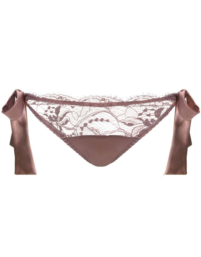 Mink Ouvert Bow Tie Brief