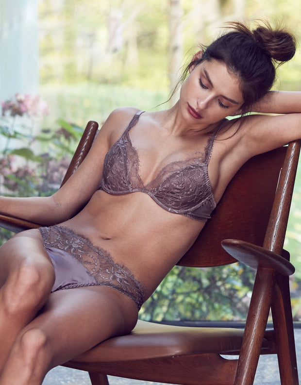 Fleur of England Mink Lace Brief