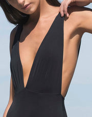 Haight Marina Adjustable One Piece in Black