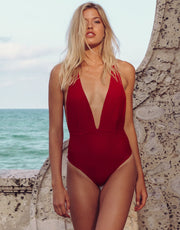 Marina Adjustable One Piece in Pitanga