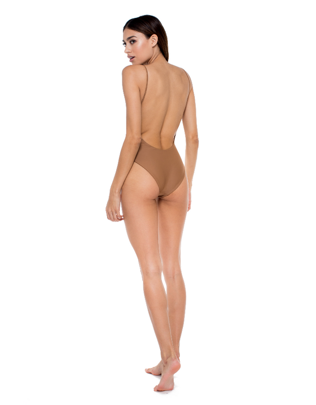 Jade Swim Trophy One Piece in Black