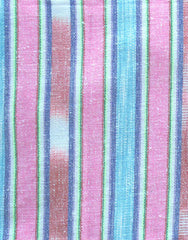 Samui Stripe Beach Bag in Pink