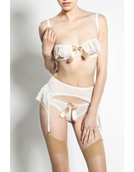Kitty Ivory Open Cup Bra
