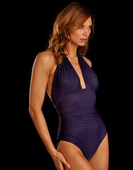Adjustable Halter Swimsuit in Cosmos