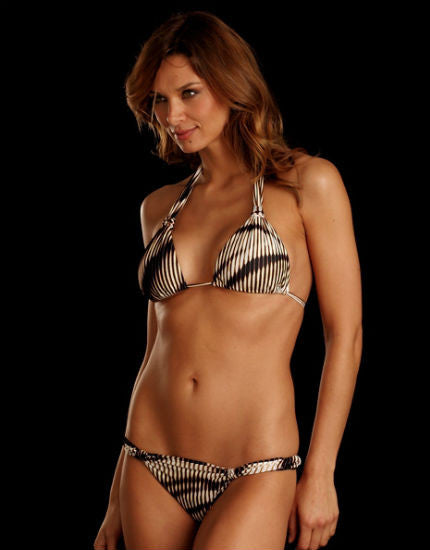 Lenny Niemeyer adjustable halter bikini top